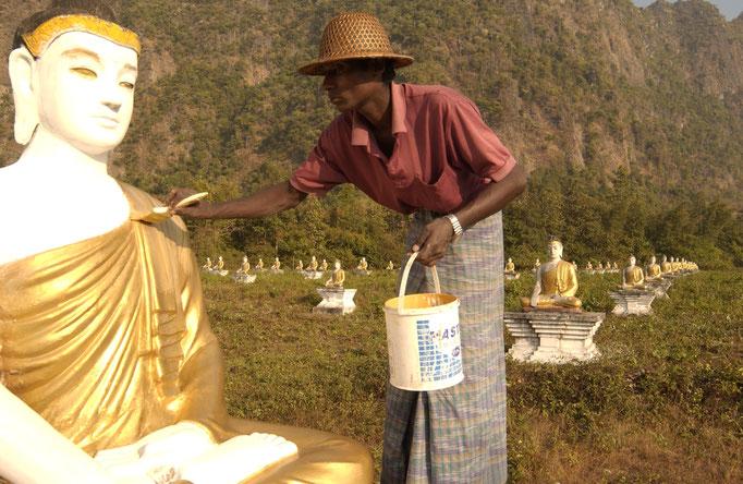 Buddha und die Schule der Achtsamkeit