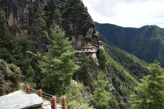 Tigernest in Bhutan