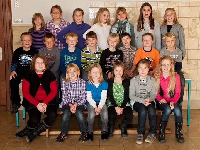 Klasse 4b - Klassenlehrerin Frau Beule