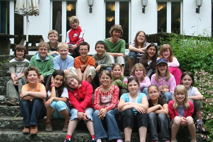 Abgänger 2008 (Gutenberg) - Klassenlehrerin Frau Braukmann