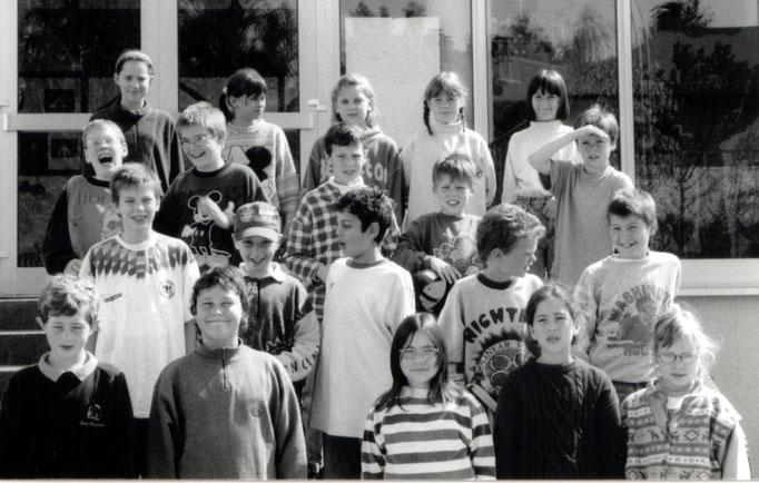 Abgänger 1996 (Gutenberg) - Klassenlehrerin Frau Zuleger/Frau Meier