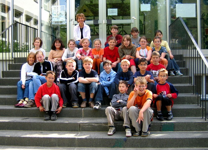 Abgänger 2004 (Gutenberg) - Klassenlehrerin Frau Meier