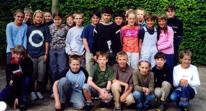 Abgänger 2001 (Gutenberg) - Klassenlehrerin Frau Krick