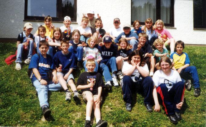 Abgänger 1999 (Gutenberg) - Klassenlehrerin Frau Wäsche