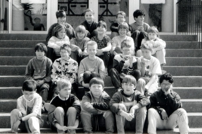 Abgänger 1996 (Gutenberg) - Klassenlehrerin Frau Gieler