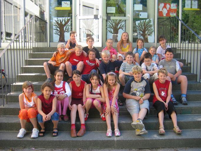 Abgänger 2005 (Gutenberg) - Klassenlehrerin Frau Krick