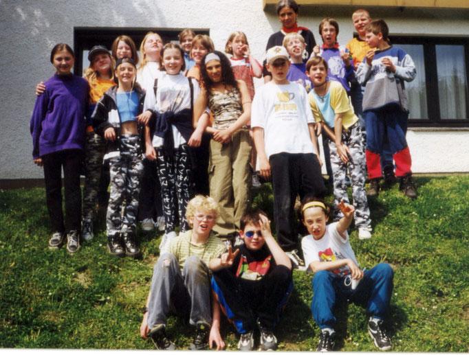 Abgänger 1999 (Gutenberg) - Klassenlehrerin Frau Albers