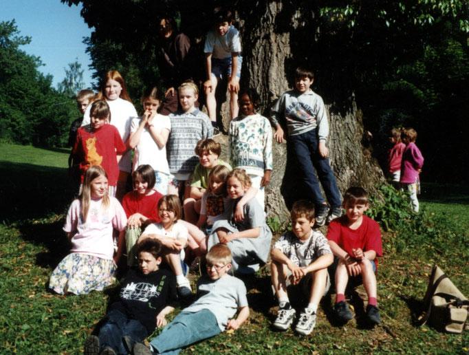 Abgänger 1997 (Gutenberg) - Klassenlehrerin Frau Krick