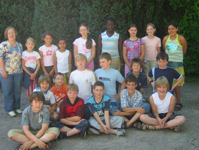Abgänger 2006 (Gutenberg) - Klassenlehrerin Frau Fricke