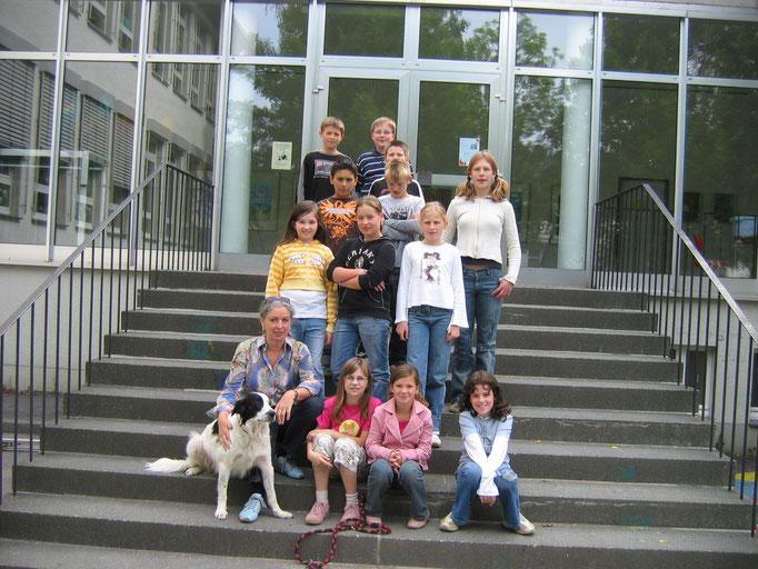 Abgänger 2007 (Gutenberg) - Klassenlehrerin Frau Albers
