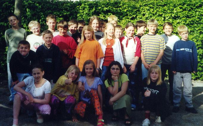 Abgänger 2001 (Gutenberg) - Klassenlehrer Herr Hense