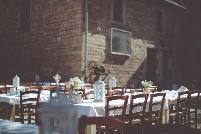 Die romantische Hochzeitslocation im Mühlenhof. Heiraten in alten Gemäuern....soooo so romantisch....