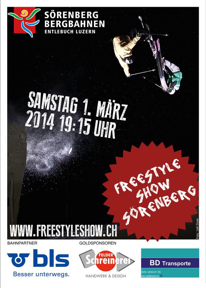 Freestyleshow Sörenberg, Flyergestaltung
