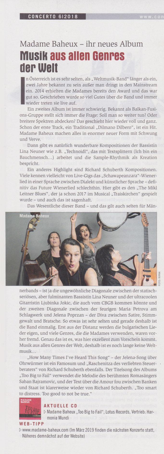Concerto (A) 2018