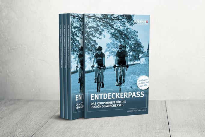 «Entdeckerpass» der Region Sempachersee, Ausgabe 2021