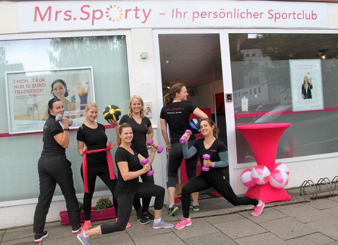 Mrs. Sporty, Wandsbeker Allee 72 / Litzowstraße