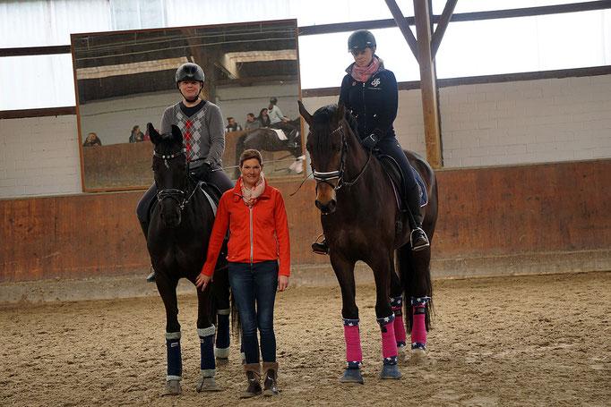 v. l. Birgit Fuchs, Kristina Straeten-Winkler und Diana Breuers