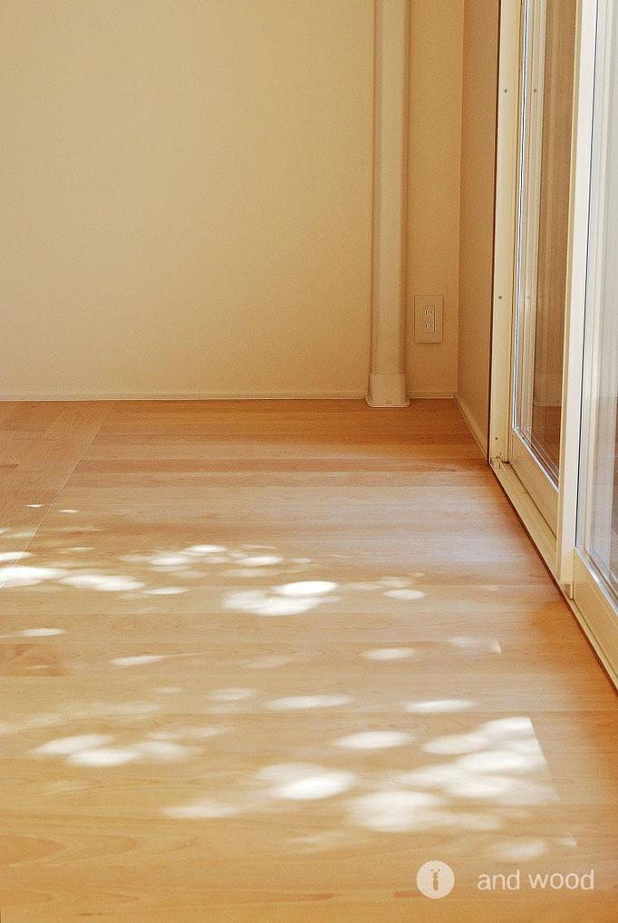 バーチ 単板貼 オイル塗装 アンドウッド andwood 施工例
