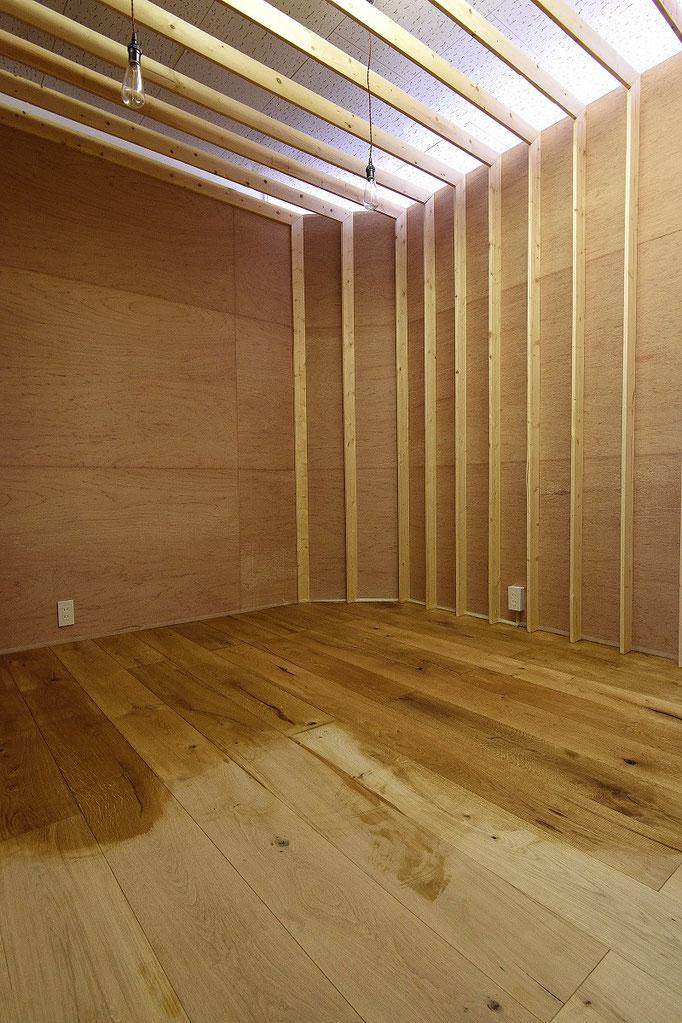 オーク 190幅 単板貼 フローリング アンドウッド andwood 施工例