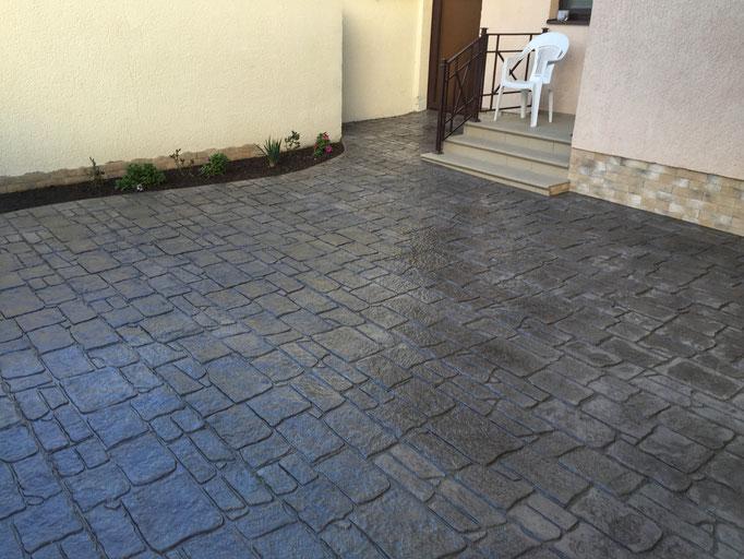 Декоративный бетон анапа что будет если в цементный раствор добавить глину