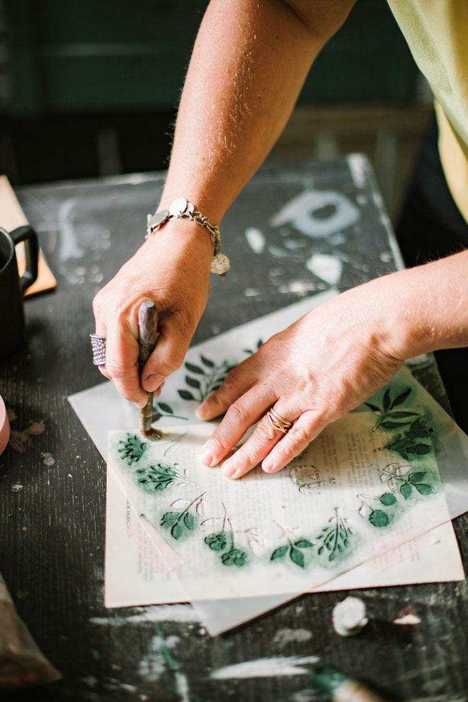 Delphine Grigné, photographe en Sarthe, séance photos portrait artisans détails mains