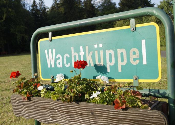 Willkommen am Wachtküppel.