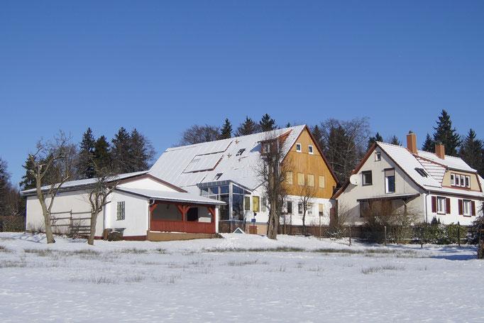 Unser Hof am Wachtküppel in der Rhön