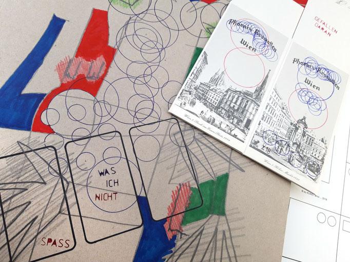 KUNSTzeich(n)en - strICHbilder | Zeichenmappe mit Aufbewahrungsschachtel | Tatjana Zinner | 2018