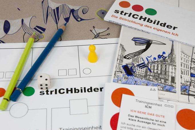 KUNSTzeich(n)en - strICHbilder | Details