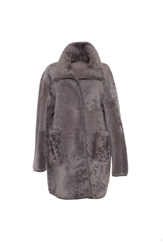 Grey Wende Shearling