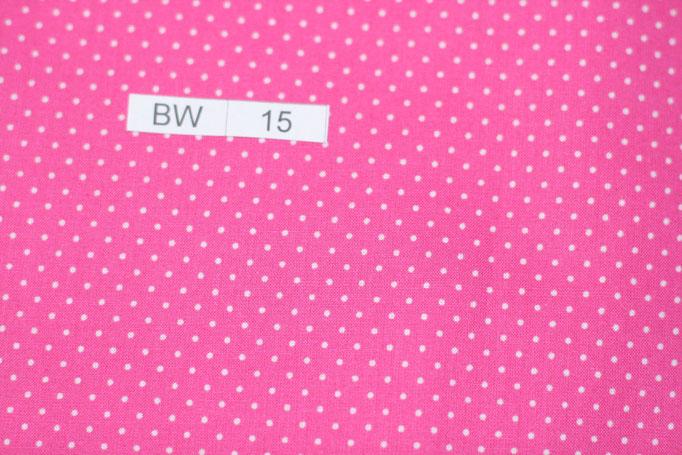 BW 15 (Pink mit weißen kleinen Punkten)