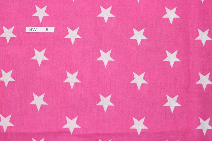 BW 9 (Pink mit weißen Sternen)