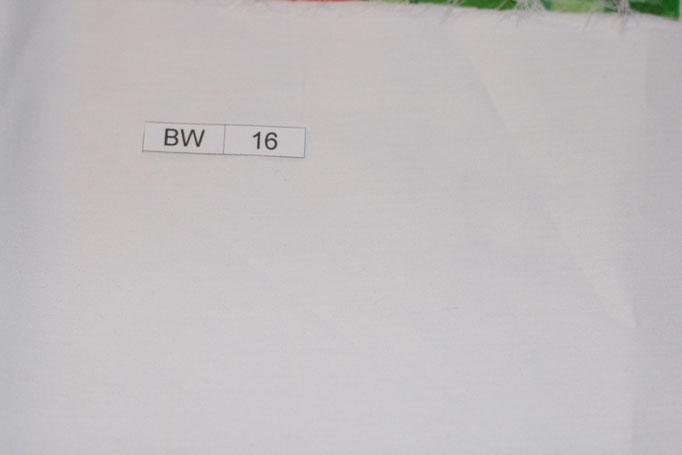 BW 16 (weiß Uni)