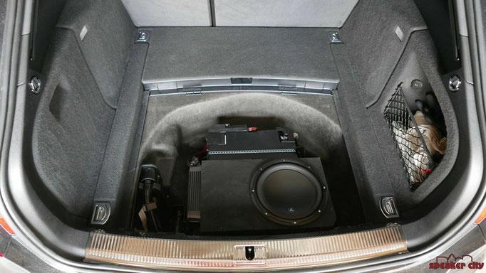 JL Audio 10W3v3 im A4 B8