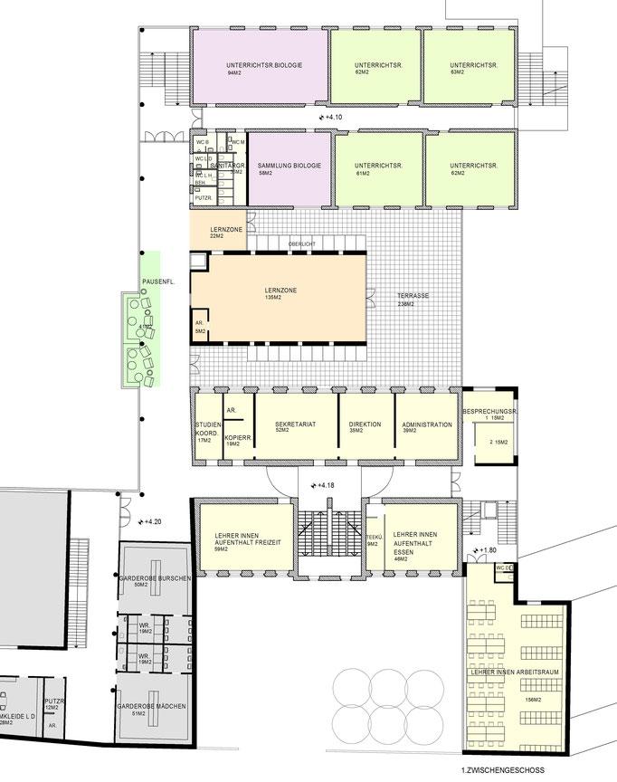 HAK Schule Architektin Lehner