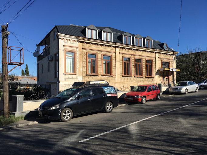 Hotel Edemi in Kutaisi - Gebäude
