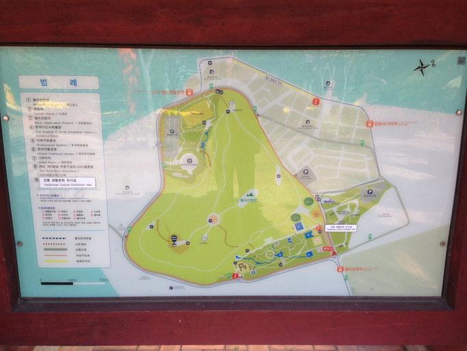 Wilma Island Lageplan