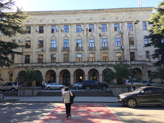Rathaus mit Tourismusinformation von Kutaisi