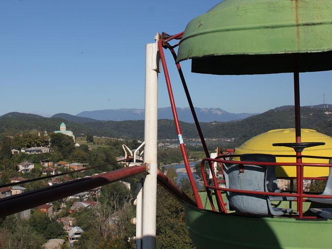 Ausblick vom Riesenrad in Kutaisi