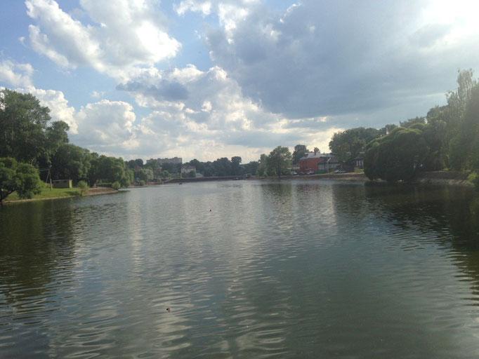 Der kleine See um die Ecke