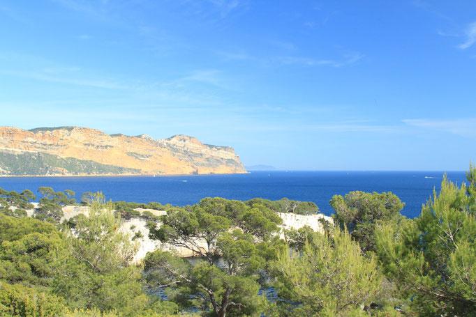 Le cap Canaille dominant la baie de Cassis
