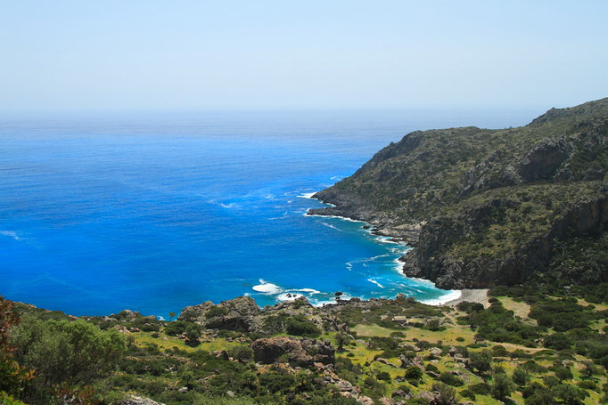La baie de Lyssos