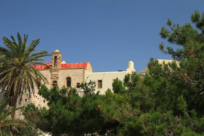 Monastere de Crisoskalitissas sur la côte ouest