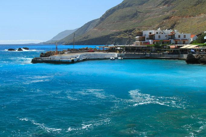 Chora Sfakion, le vieux port
