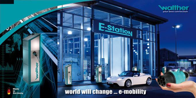 WALTHER-WERKE / e-mobility - Leitmotiv / Katalog / Messe