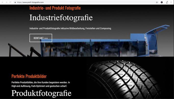 Webdesign von STEFAN ELLBRÜCK DESIGN / www.profi-fotografie.com
