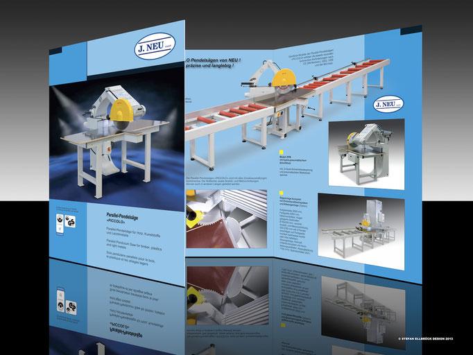 Folder NEU Maschinnebau und Handel GmbH