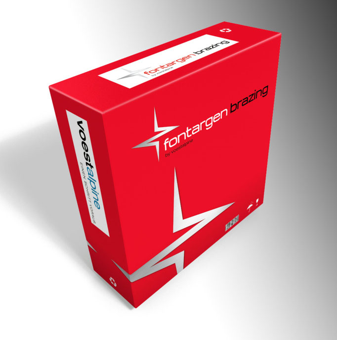 Verpackung Design Voestalpine fontargen brazing
