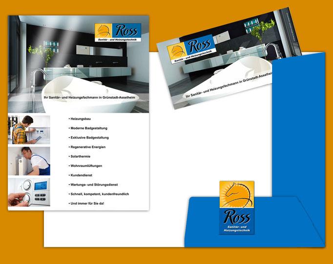 Mappe / Folder / Martin Ross-Heizung-Sanitär