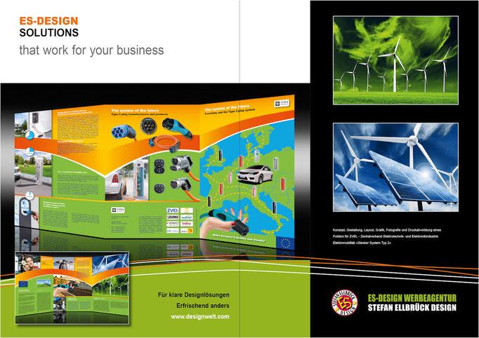 Folder Zentralverband Elektrotechnik- und Elektronikindustrie